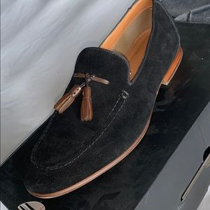 Men Tassel Loafers | Black
